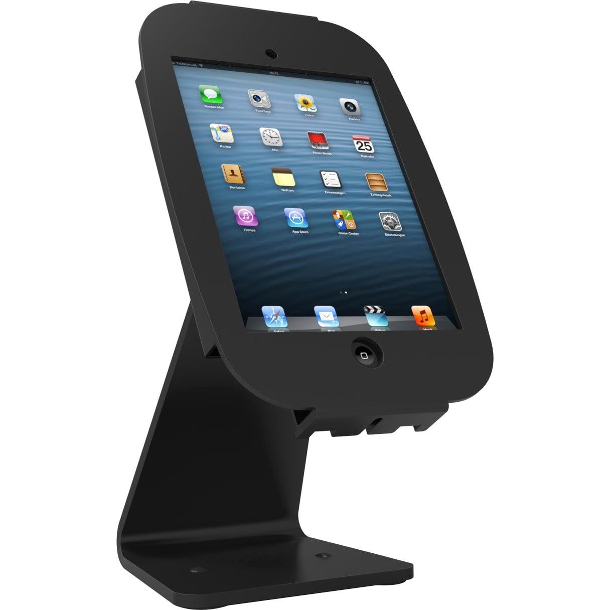 Mac Locks Space 360-Degree Rotating Kiosk for iPad Pro - Black