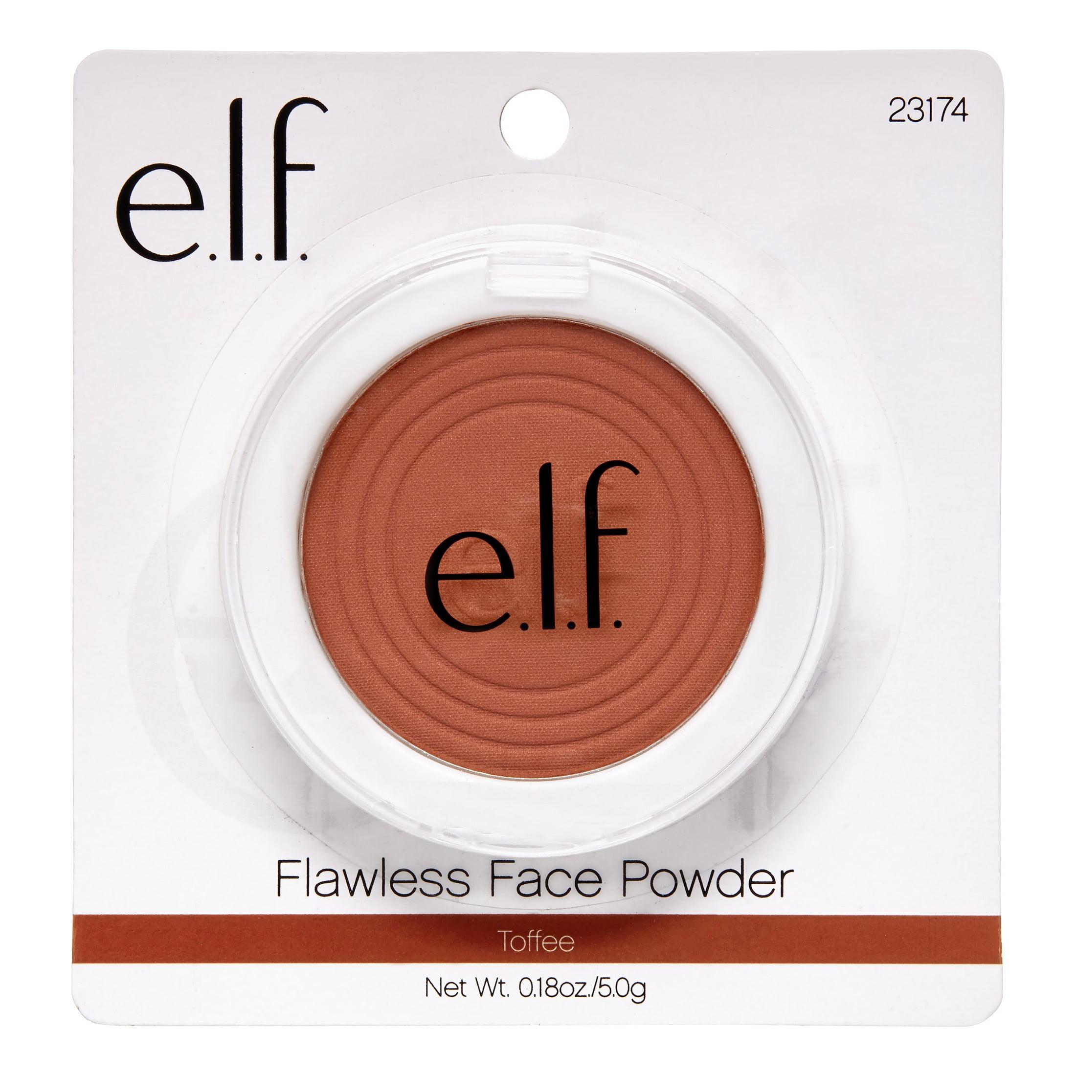 e.l.f. Flawless Face Powder, Toffee, 0.18 Oz