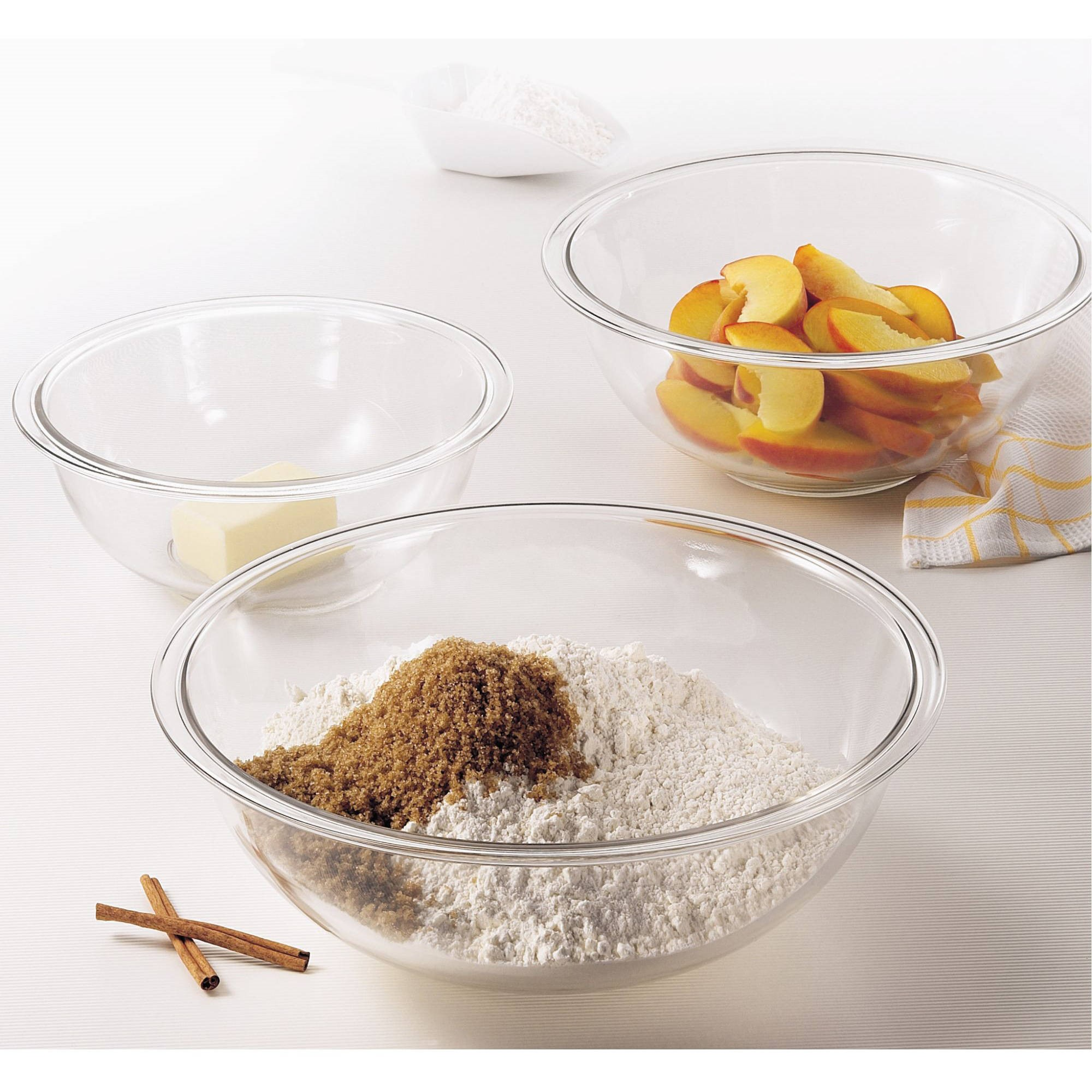 Pyrex Smart Essentials 6-Piece Mixing Bowl Set