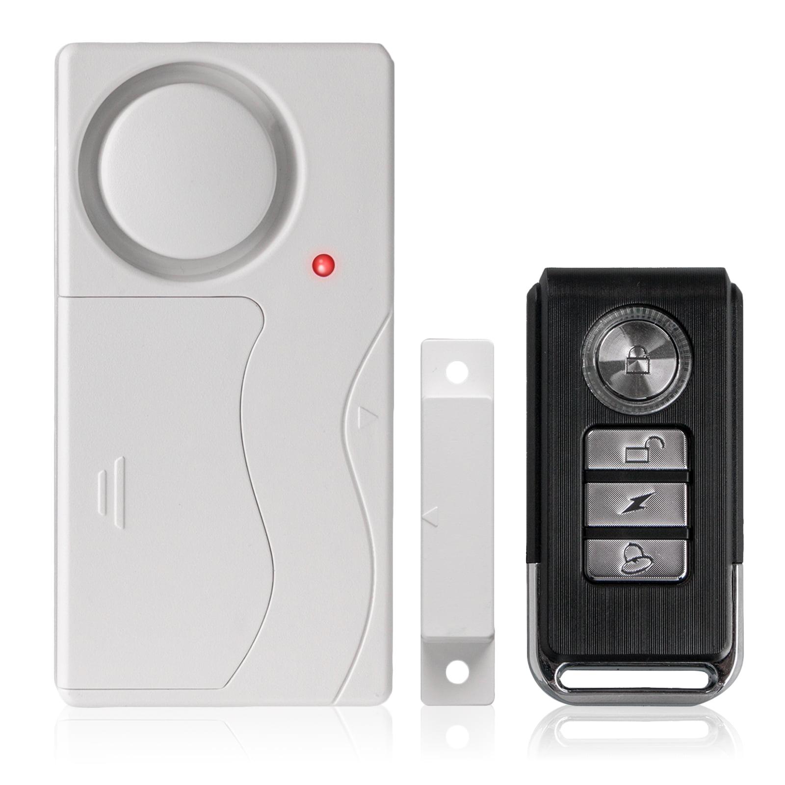 Wireless Alarm System, EEEKit Wireless Magnetic Anti-Theft Remote Control Alarm System Door Window Home Entry Security Burglar Bell Alarm