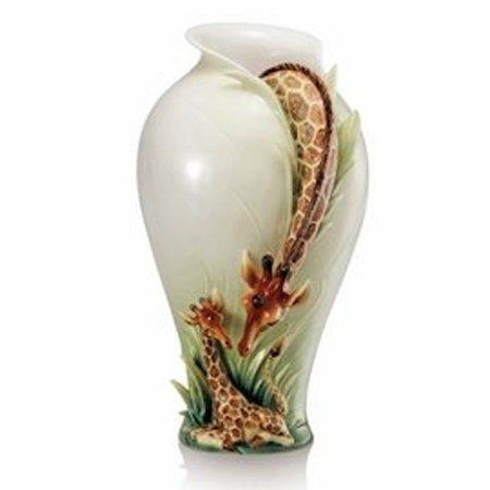 Frank Vase (Franz Porcelain - Vase - Endless Beauty Giraffe )