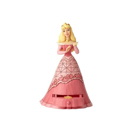 Jim Shore Disney 6000967 Sleeping Beauty Aurora With Tiara Charm 2018 - Aurora Tiara