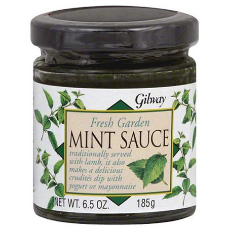 Gilway Fresh Garden Mint Sauce, 6.1 oz, (Pack of - Garden Mint Sauce