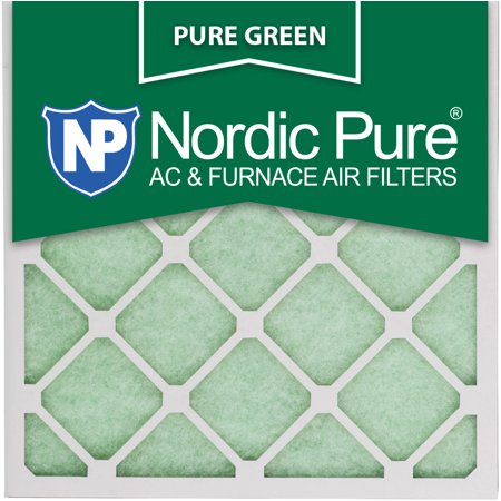 nordic pure 18x18x1 pure green ac furnace air filters qty 6 ...