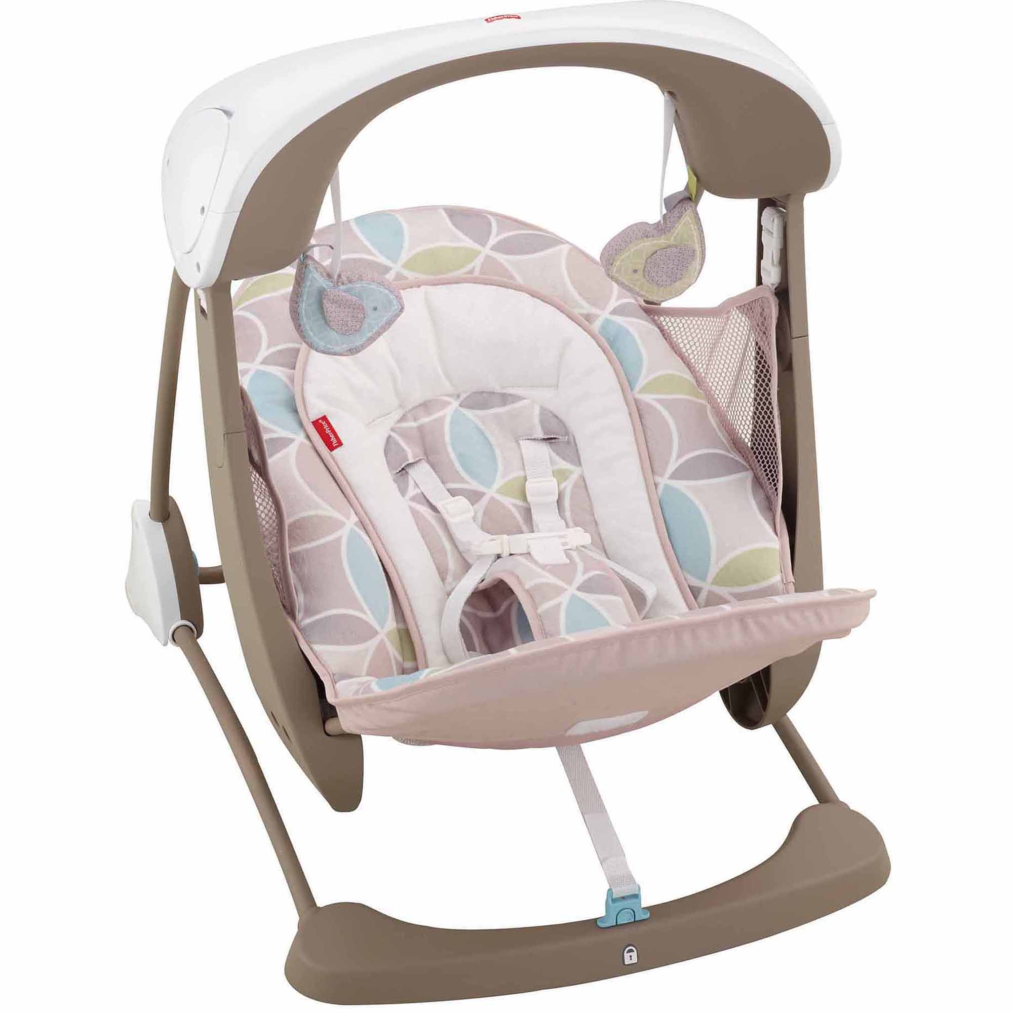 Fisher Price Butterfly Cradle Baby Swing
