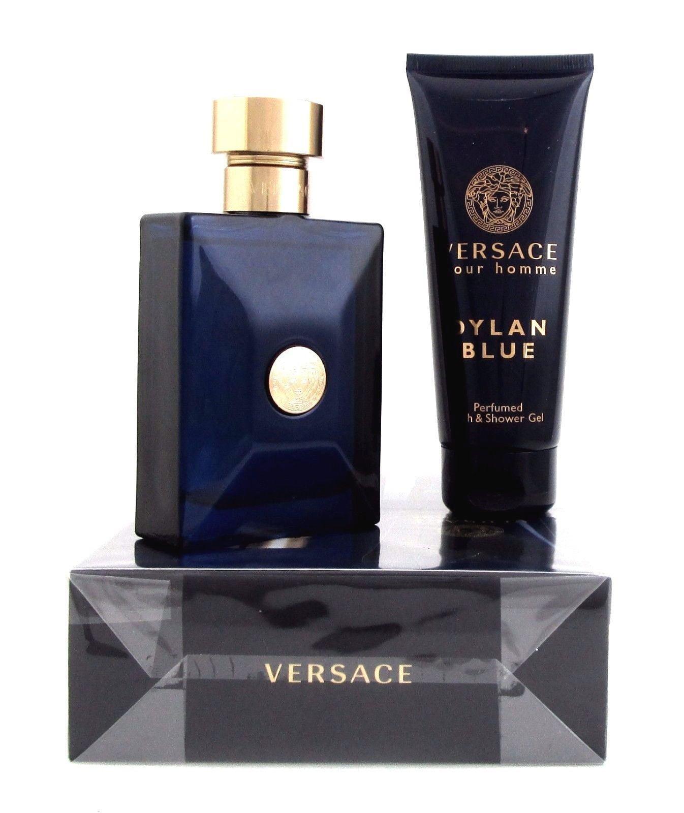 a410f6771c Versace - Versace Pour Homme Dylan Blue Cologne by Versace, 2 Piece Gift  Set men - Walmart.com
