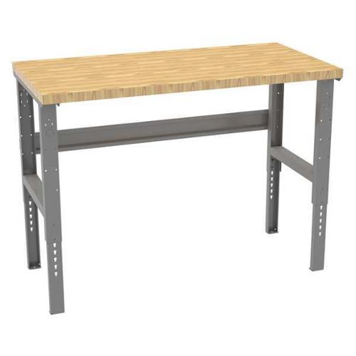 "TENNSCO WBAT-1-3060W Workbench,Butcher Block,60"" W,30"" D G0152741"