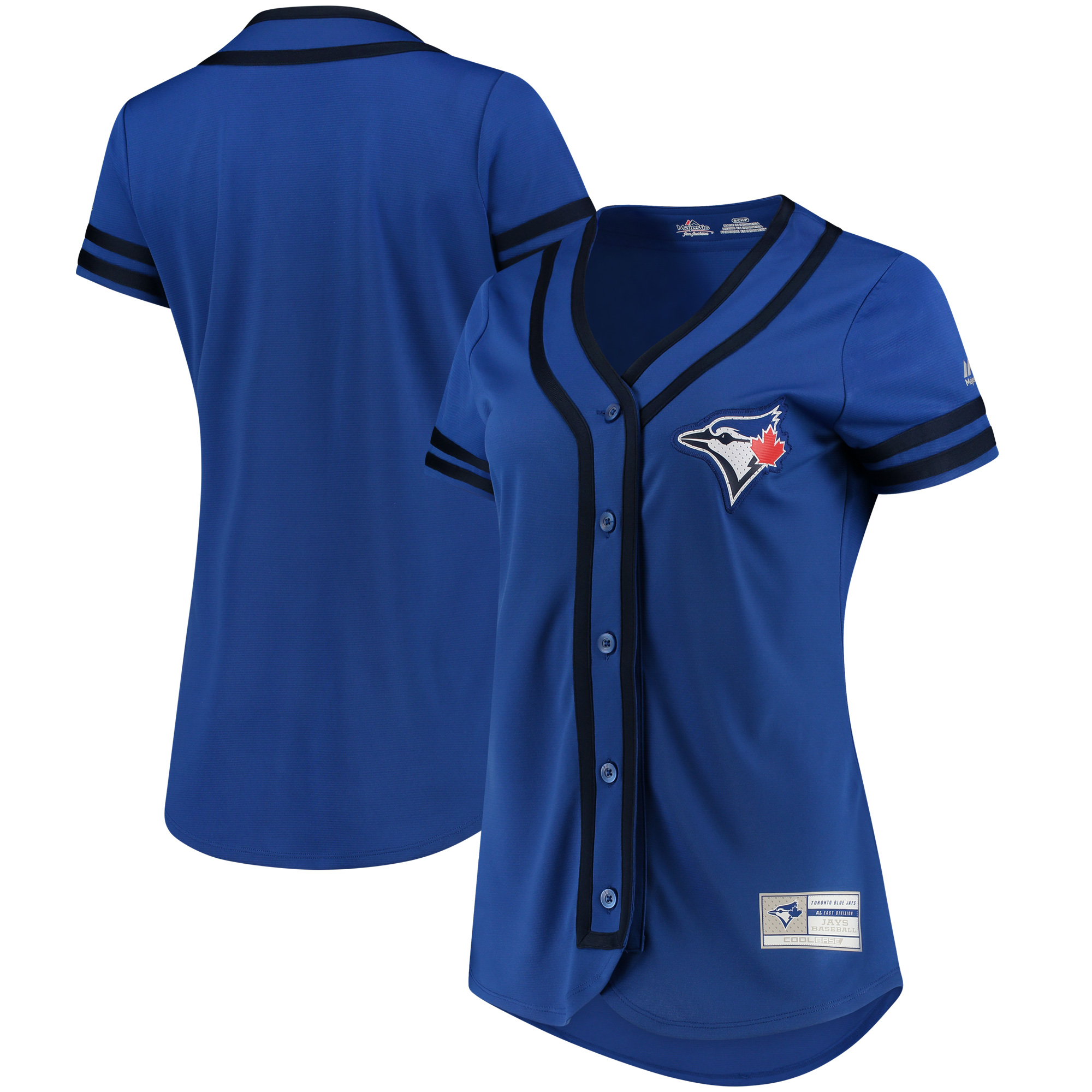 Toronto Blue Jays Majestic Women's Absolute Victory Fashion Team Jersey - Royal/Navy
