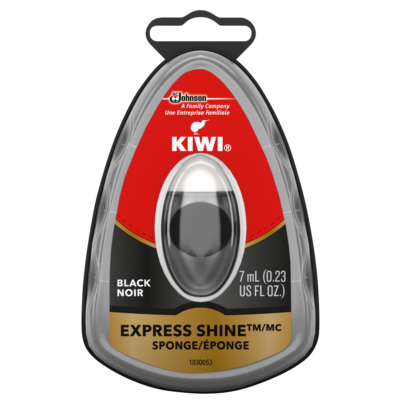 Kiwi Shine Sponge Select Express Shine Sponge cleans polishes brown leather NEW