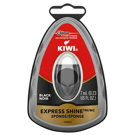 KIWI Express Shine Instant Shine Sponge Black 1