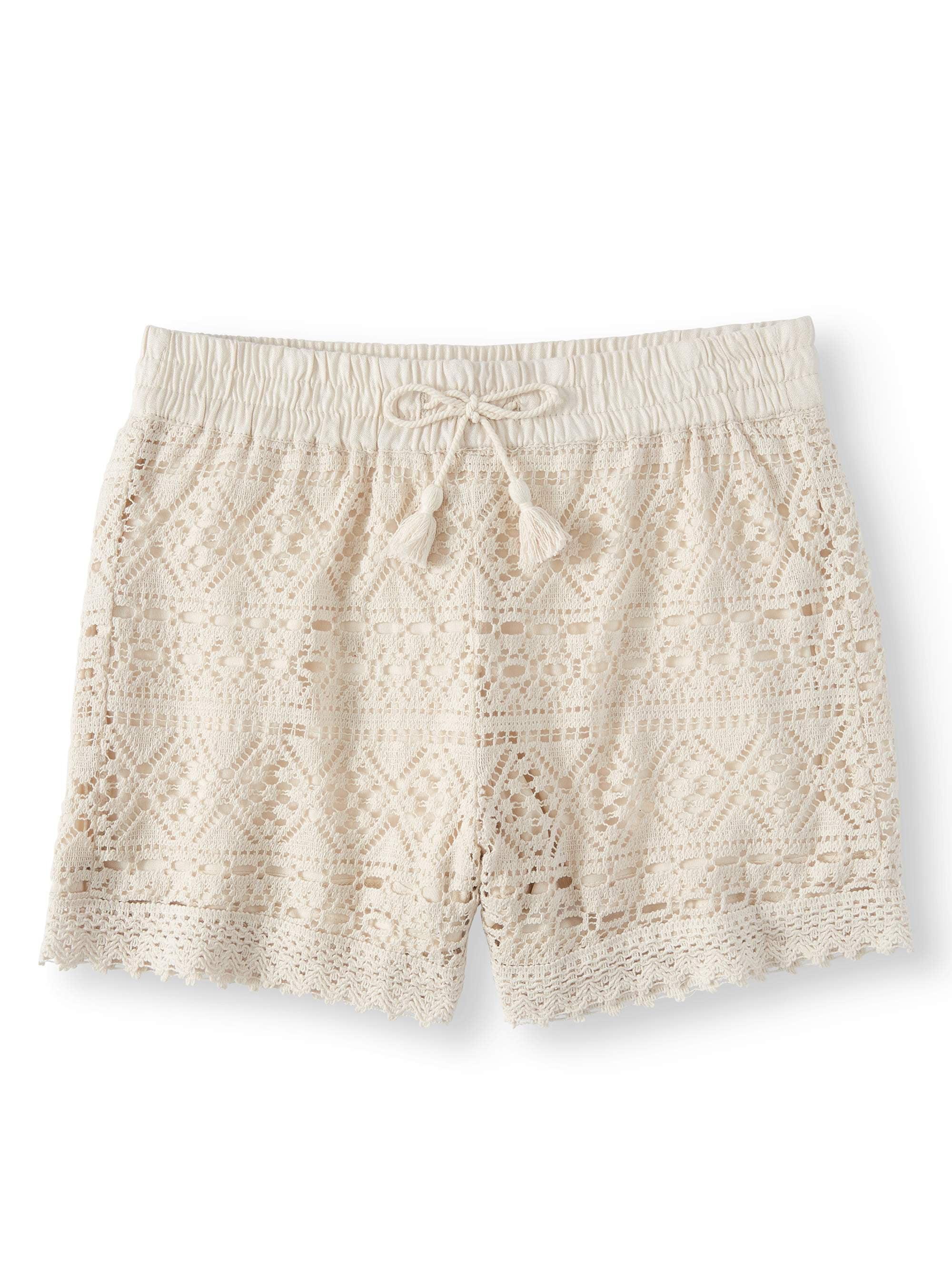 Girls' Crochet Short