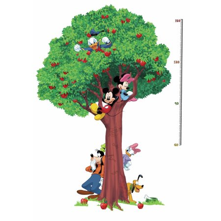 Disney Mickey And Friends Metric Growth Chart Wall Decals Kids Room Peel & Stick Wall Stickers  - - Disney Size Chart
