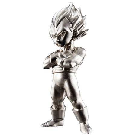 - Dragon Ball Z Super Saiyan Vegeta Absolute Chogokin Statue by Bandai Japan