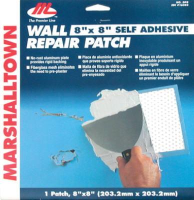 Marshalltown Trowel 16303 Drywall Patch Kit, 8 x 8-In.