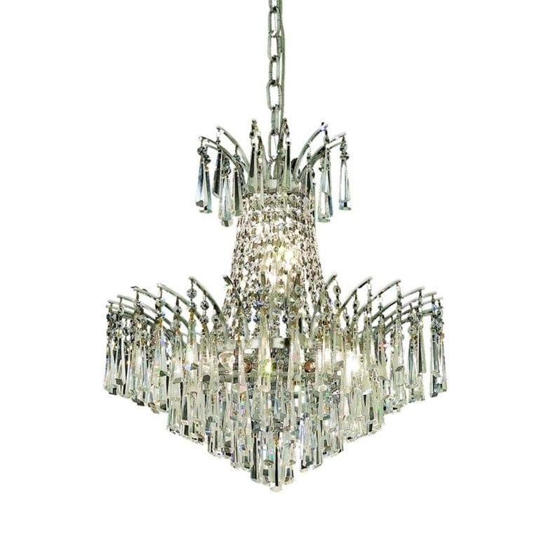 "Elegant Lighting Victoria 19"" 8 Light Spectra Crystal Chandelier - image 1 de 1"