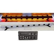 "56"" Amber LED Emergency Light Bar Flashing Tow/Plow Truck Wrecker w/ BRAKE/TURN SIGNAL LIGHTS"