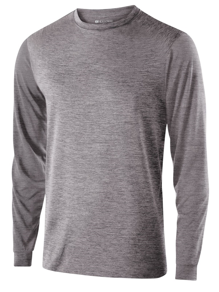 Holloway Dry-Excel Youth Gauge Long Sleeve Shirt