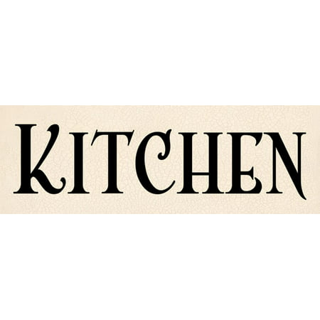 Kitchen I Classic Sign Modern Kitchen Lovely Best Amazing Cafe Quality Advertisement Poster