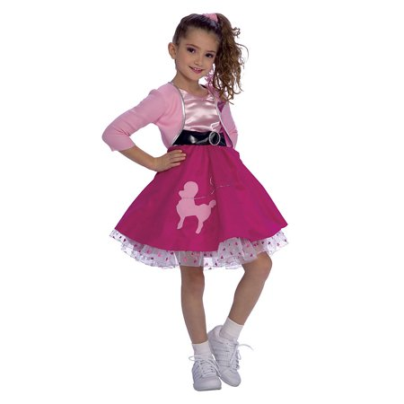 Child Fifties Girl Costume Rubies - Fifties Costumes For Girls