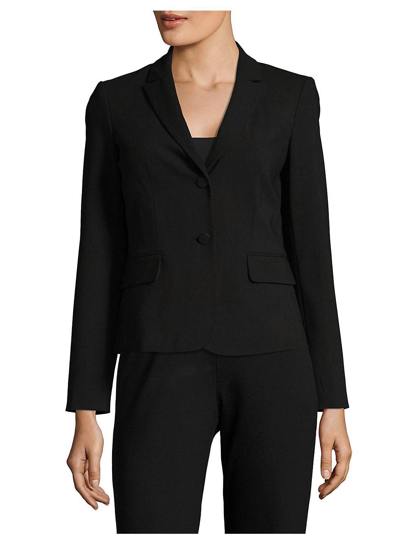 Plus Long Sleeved Suit Jacket