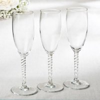 12 Perfectly Plain Collection Elegant Champagne Flutes