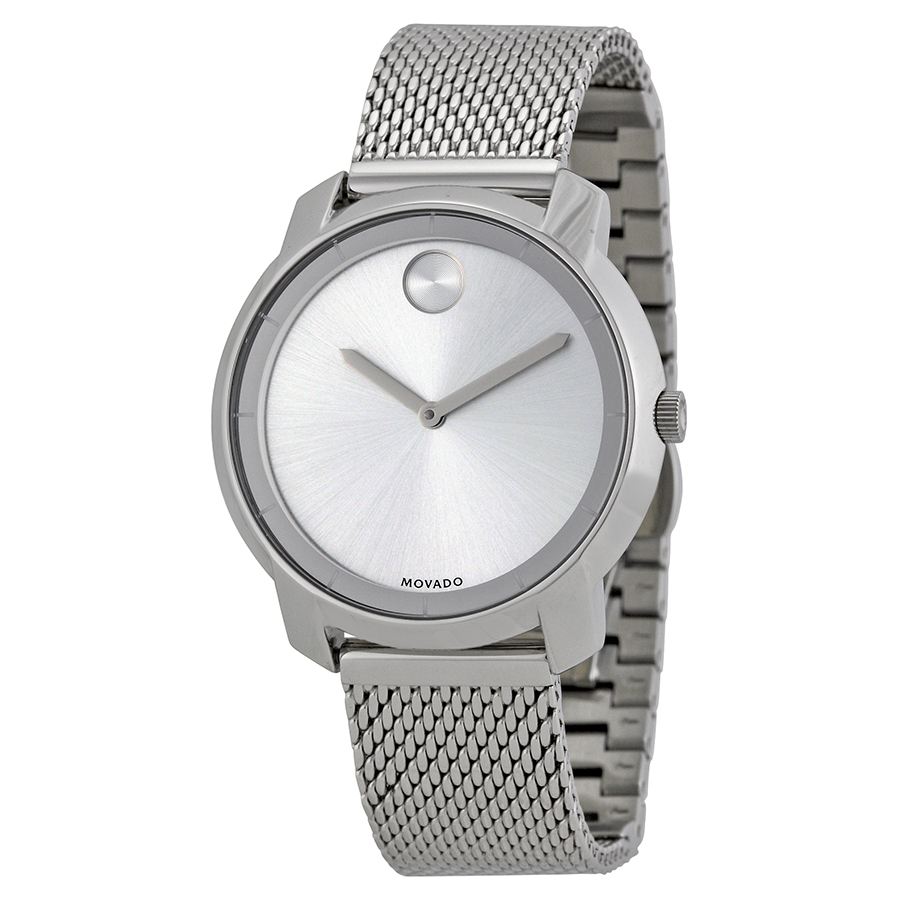 Movado Bold Stainless Steel Ladies Watch 3600241