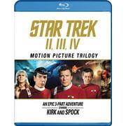 Star Trek II / Star Trek III / Star Trek IV (Blu-ray)