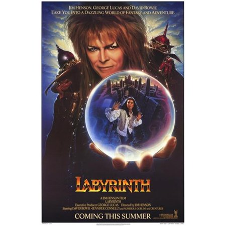 Pop Culture Graphics MOV193624 Labyrinth Movie Poster, 11 x