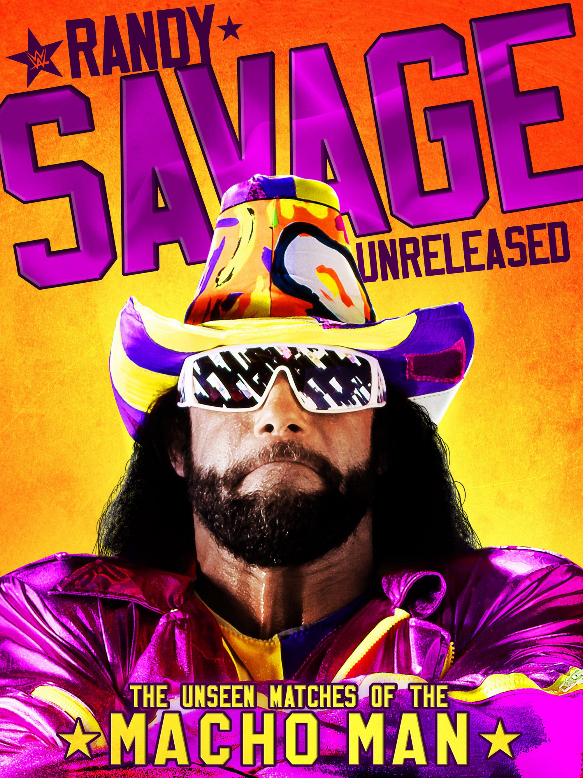 WWE: Randy Savage Unreleased: The Unseen Matches of The Macho Man (DVD) by