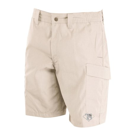 Tru-Spec 4233 Mens Simply Tactical Cargo Shorts, Rip-Stop, Khaki