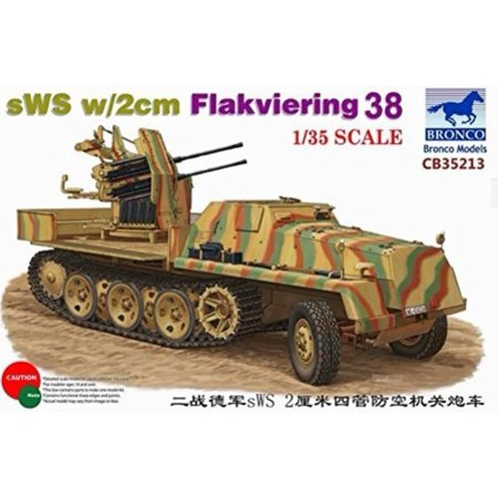 BNC35213 1:35 Bronco sWS with 2cm Flakviering 38 [MODEL BUIL