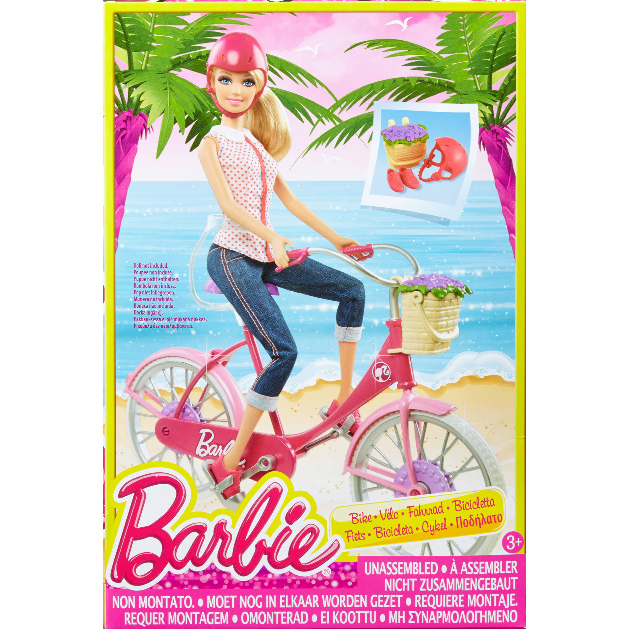Barbie - Mattel Bb On The Go Story Accsory Pack (biking)