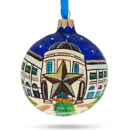 BestPysanky Austin, Texas Glass Ball Christmas Ornament ()