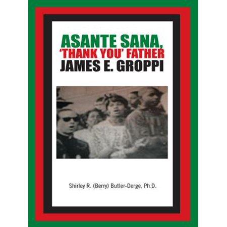 Asante Hub - Asante Sana, 'Thank You' Father James E. Groppi - eBook