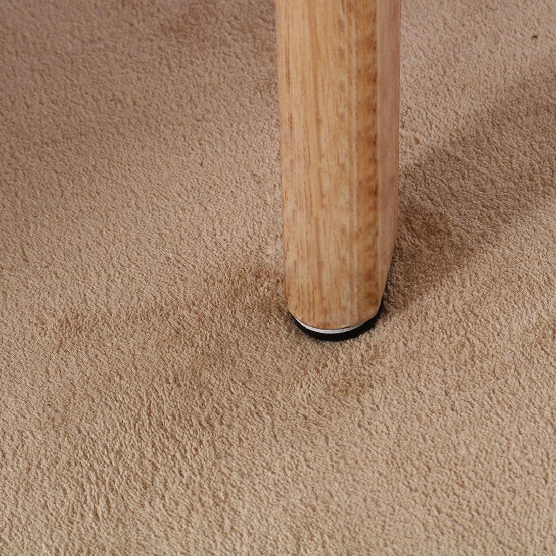 Stable Screw Furniture Slider Glides Chair Sofa Foot Mover Light Blue 4pcs - image 1 de 5
