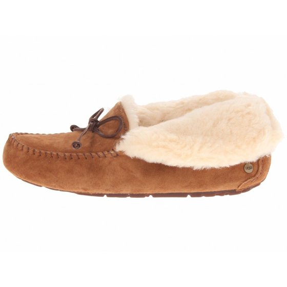 05d39d099836 17mm UGGpure wool insole  woven heel label with UGG logo. outsole  molded  rubber UGG Women s Alena Slipper