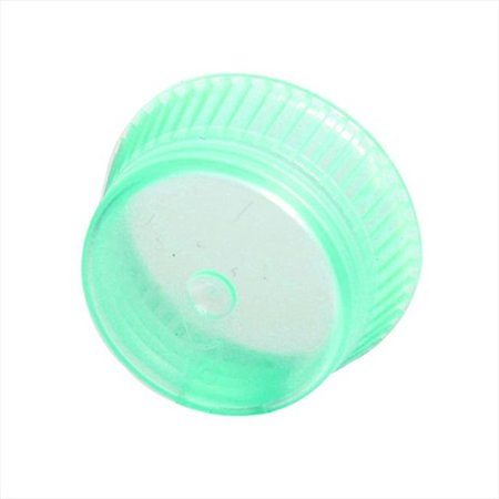 Bio Plas 6515 Uni-Flex Safety Caps for 10mm Blood Collecting Culture Tube 1000 Pk - Green (Halloween Safety Psa)