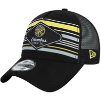 Columbus Crew SC New Era Shoreline 9FORTY Adjustable Snapback Hat - Black - OSFA