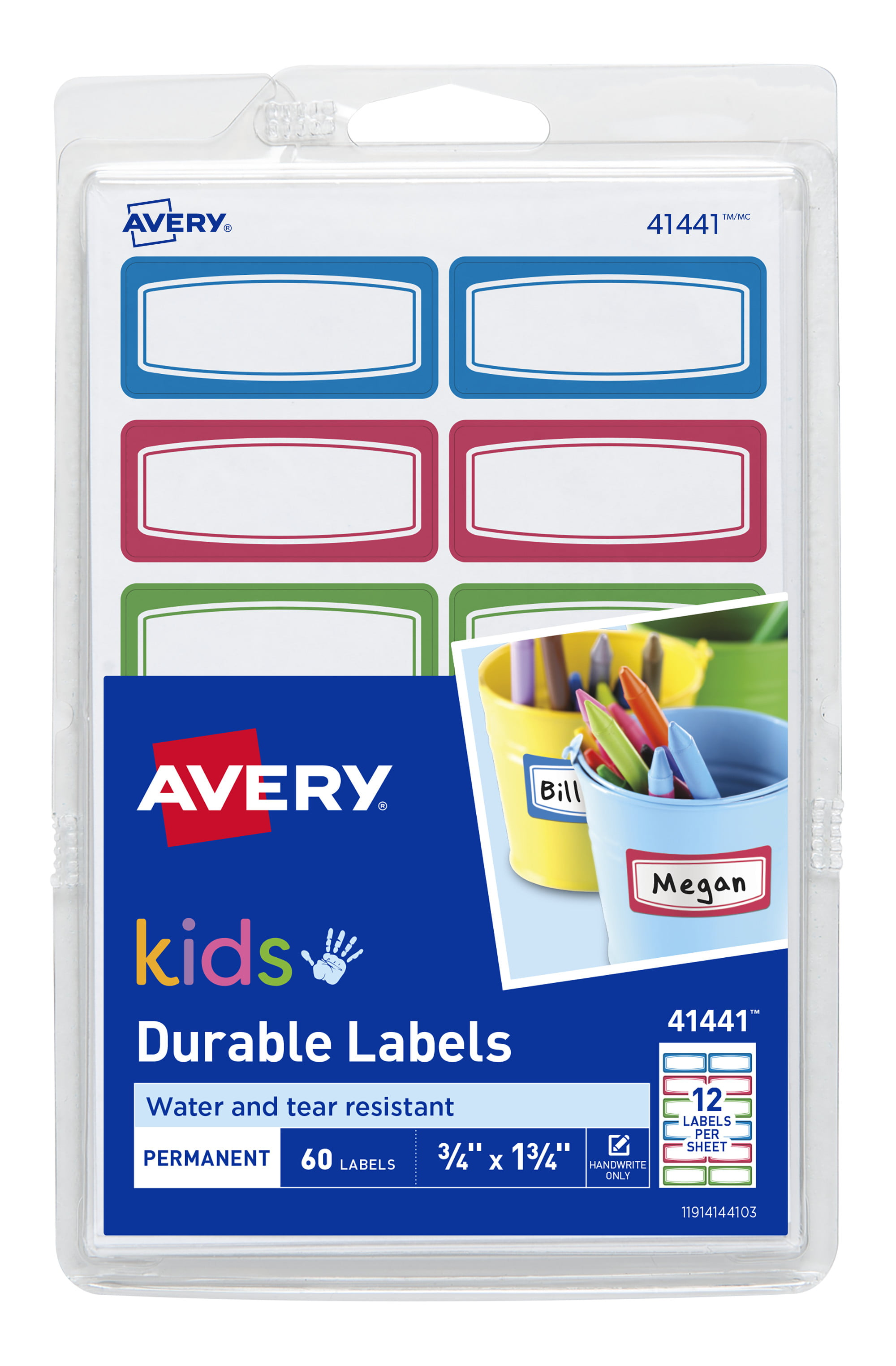 20 x Personalised Waterproof Iron On Labels For Schools Dance Clubs Care Homes