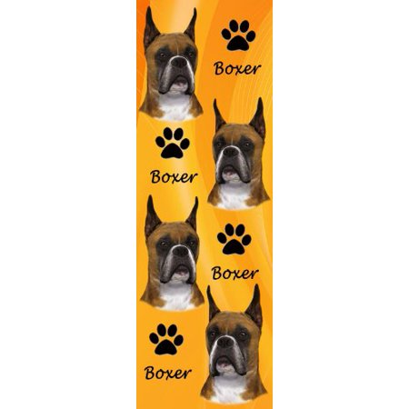 E&S Pets BM-7 Dog Bookmark Boxer, Cropped Ears