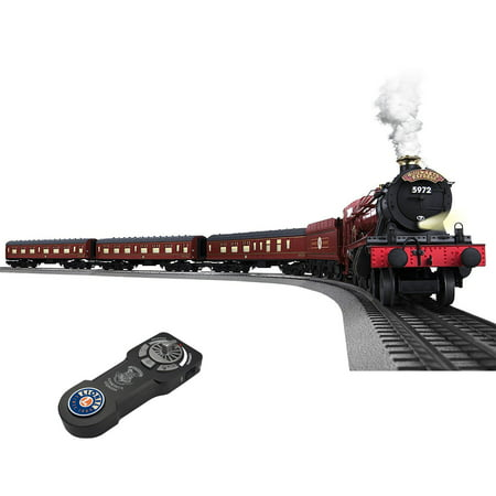 Lionel Hogwarts Express Electric O Gauge Model Train Set With Remote and Added FasTrack