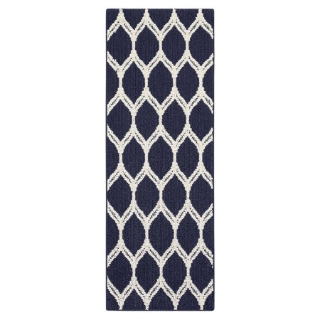 Mainstays Sheridan Ogee High Low Loop Textured Area Rug or Runner Rug