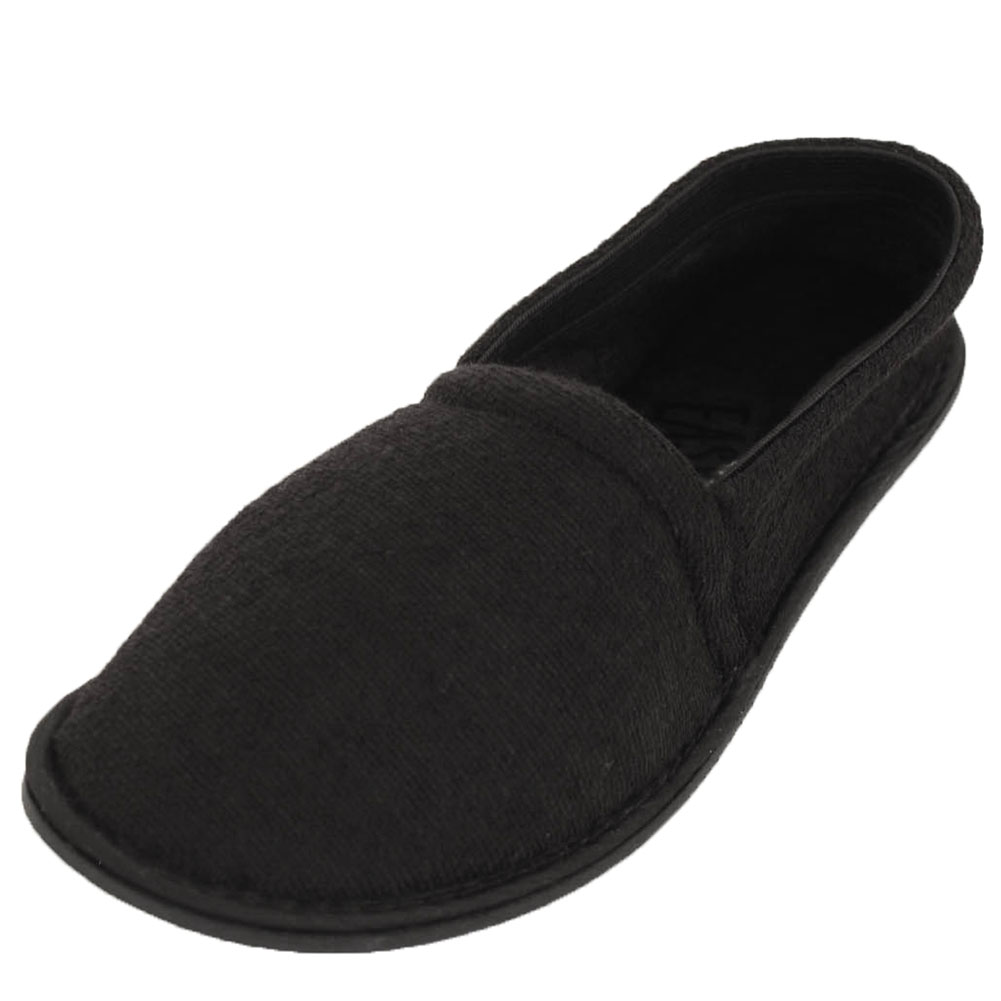 High Quality Easy USA Menu0027s Terry Slip On House Slippers