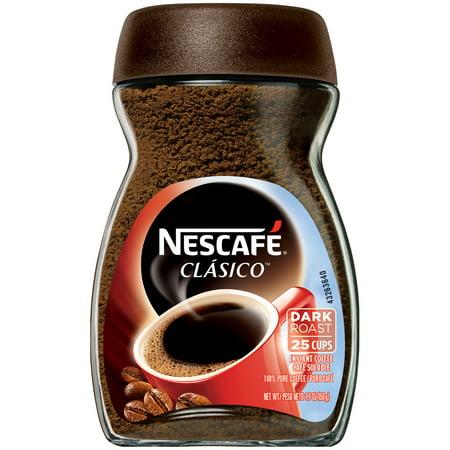 NESCAFE CLASICO Instant Coffee 1.7 oz. Jar