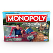Monopoly: Jeff Foxworthy Edition Board Game Featuring Redneck Humor
