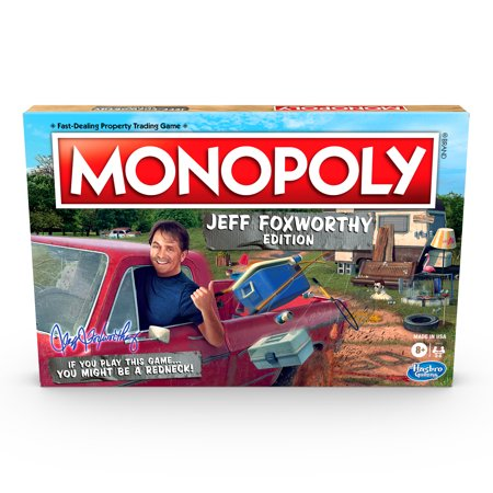 Only At Walmart: Monopoly: Jeff Foxworthy Edition Board Game