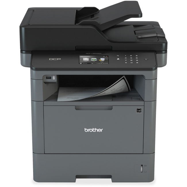 Brother DCP-L5500DN Laser Multi-Function Copier with Duplex Printer and Networking