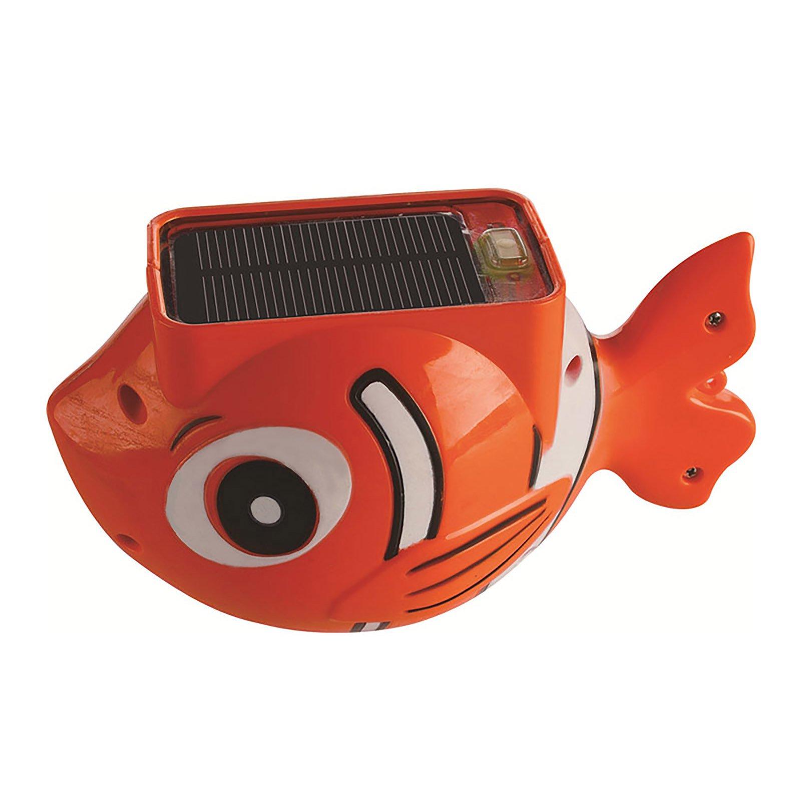Blue Wave Sun Fish Solar Floating Pool Light