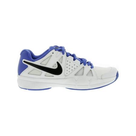 0d1d0c6b2 Nike Men s Air Vapor Advantage White   Black - Medium Blue Ankle-High  Leather Running ...