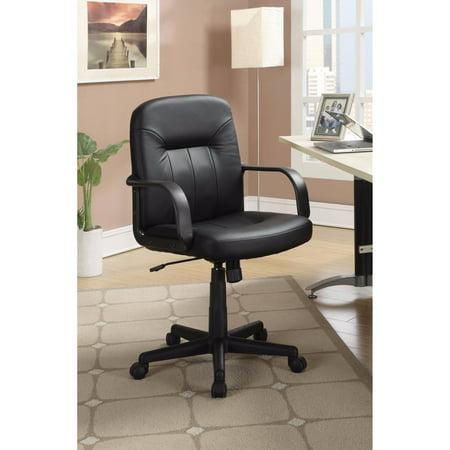 Medium Back Office Leather Chair,